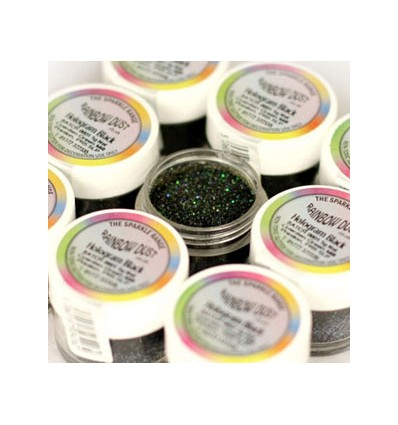 Purpurina Hologram black (negra), 5 gr
