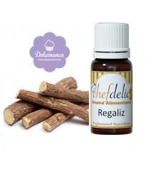 Aroma concentrado sabor Regaliz chefdelíce 10 ml