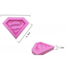 Molde silicona Logo Superman