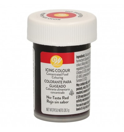 Colorante Wilton - Rojo sin sabor