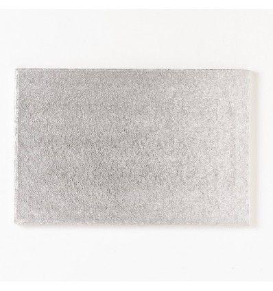 Base rectangular semirrígida para tartas 40 x 30cm