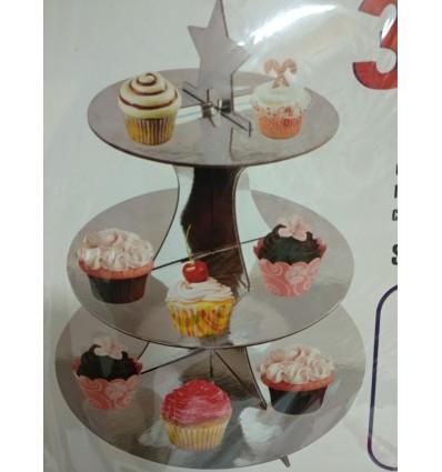 Stand plata para Cupcakes