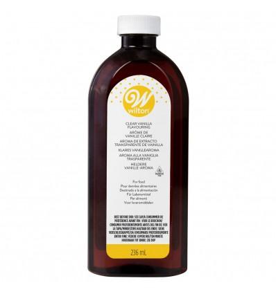 Extracto de Vainilla transparente Wilton 236 ml