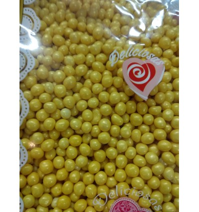 Bolitas Topping Deluxe Oro, 80gr