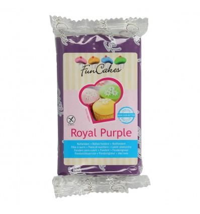 Fondant Funcakes Royal Purple 250 gr