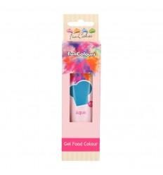 Colorante FunColours Gel -Aqua 30g