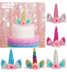 Topper Unicornio color al Azar