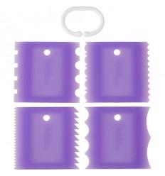 Wilton Texturizadores Set/4