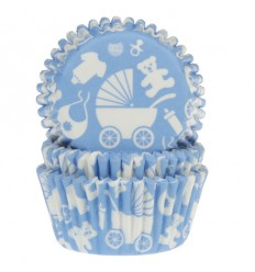 Cápsulas Azules Bebe niño,House of Marie 50 Ud