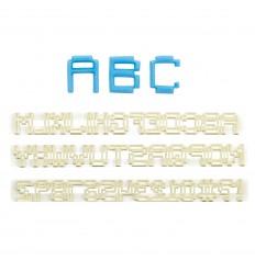 Cortadores letras y números Pixel