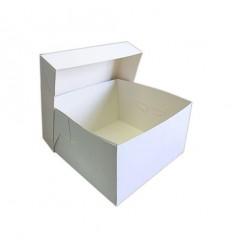 Caja FINA para tartas 30x30x15 cm