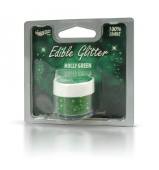 Edible Glitter -Holly green- 5g Purpurina comestible verde