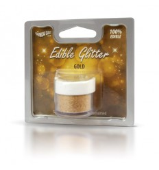 Edible Glitter -Gold- 5g Purpurina comestible oro