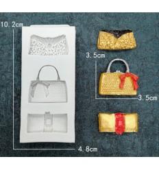 Molde silicona bolsos