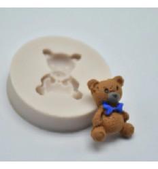 Molde silicona mini Osito-1 cm