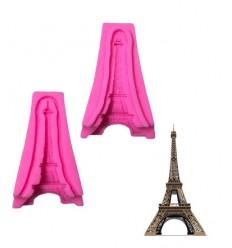 Molde silicona Torre Eiffel
