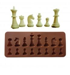 Molde silicona Figuras de ajedrez