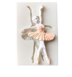 Molde silicona bailarina