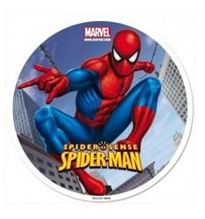 Impresión en Oblea. Spider-Man Ø20