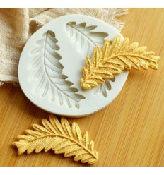 Molde silicona hojas de Olivo