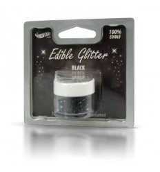 Edible Glitter -Black- 5g Purpurina comestible Negra