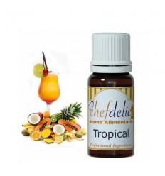 Aroma concentrado tropical de chefdelíce 10 ml