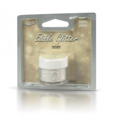Edible Glitter -Ivory 5g Purpurina comestible
