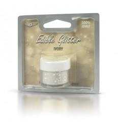 Edible Glitter -Ivory 5g Purpurina comestible