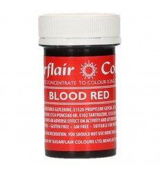 Sugarflair Colorante en Pasta Blood Red 25g