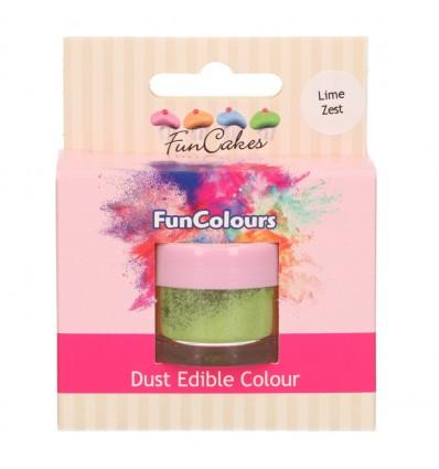 FunCakes Edible FunColours Dust - Lime Zest