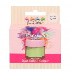 FunCakes Edible FunColours Dust - Citrus Green