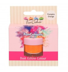 FunCakes Edible FunColours Dust - Pumpkin Orange