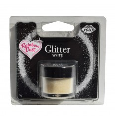 Edible Glitter -White- 5g Purpurina comestible