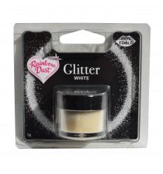 Edible Glitter -White- 5g Purpurina comestible