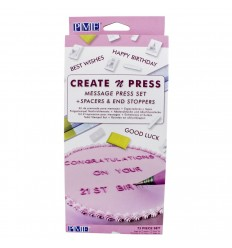 PME SET PRESIONA Y CREA- CREATE N PRESS MESSAGE SET