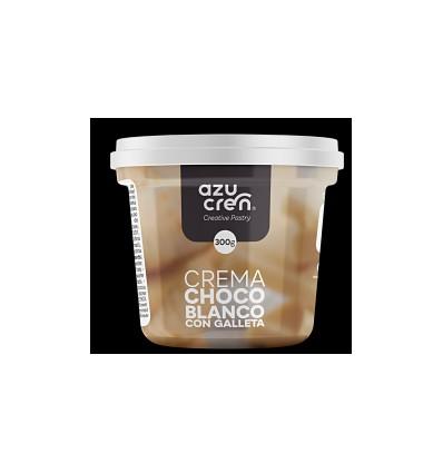 Frosting crema chocolate Blanco con Galleta, 300 gr