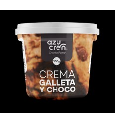 Frosting crema Galleta y chocolate , 300 gr