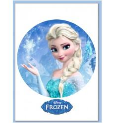 Impresión en Oblea. Frozen Ø20