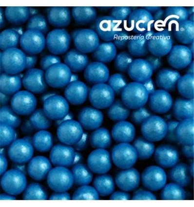 PERLAS DE AZÚCAR AZULES 7 MM. AZUCREN BOTE 90 GRAMOS