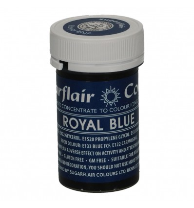 COLORANTE PASTA ROYAL BLUE SUGARFLAIR -25G