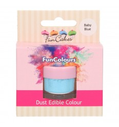 FunCakes Edible FunColours Dust -BABY BLUE