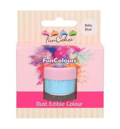FunCakes Edible FunColours Dust -BABY BLUE