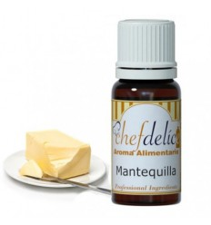 Aroma concentrado de Mantequilla chef delice 10ml