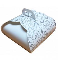 Caja con asa para tarta,MODELO MARIPOSA 30X30X13