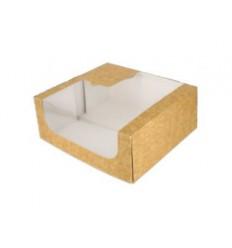 Caja natural Maxi Ventana 24x24x10cm