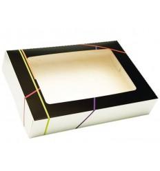 Caja rectangular PRESTIGE 44X30X12 CON VENTANA