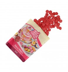 FunCakes Candy Deco Melts -Rojo- 250g