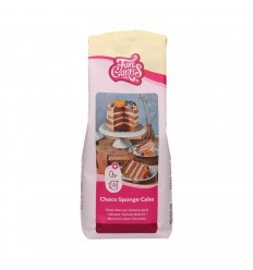 Mezcla para Chocolate Bizcocho de Chocolate 1kg FunCakes