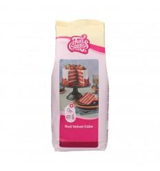 Mezcla para pastel Red Velvet FunCakes 1kg