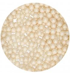 FunCakes Perlas Azúcar 7mm -Shiny White- 80g